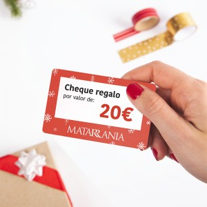 Cheque regalo MATARRANIA 20€