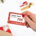 Cheque regalo 70€ en cosmética ecológica MATARRANIA