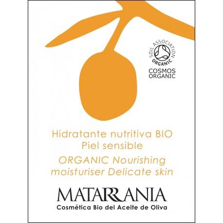 MUESTRA DE HIDRATANTE NUTRITIVA PIEL SENSIBLE 100% BIO