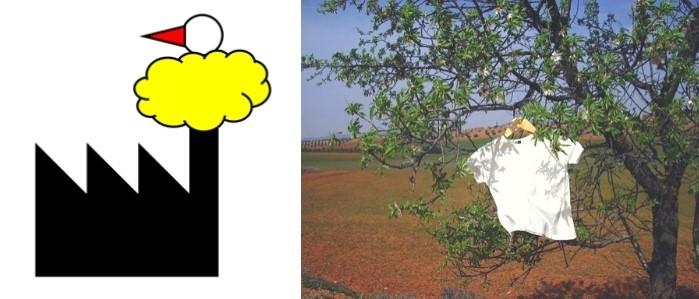 Canecología, logo, camiseta de algodón orgánico