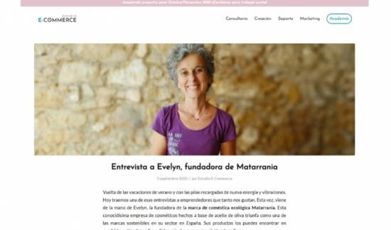 Ecommerce entrevista a Evelyn Celma